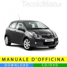 Manuale officina Toyota Yaris (2005-2011) (EN)