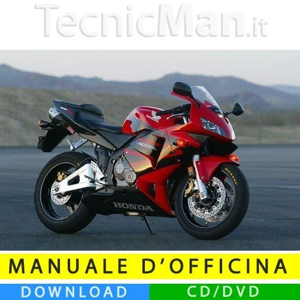 Manuale officina Honda CBR 600 RR (2003-2004) (IT)