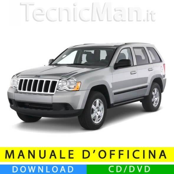 Manuale officina Jeep Grand Cherokee (2005-2010) (EN)