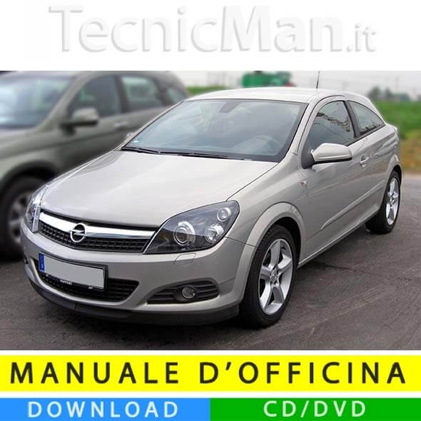 Manuale officina Opel Astra H (2004-2010) (EN-IT)
