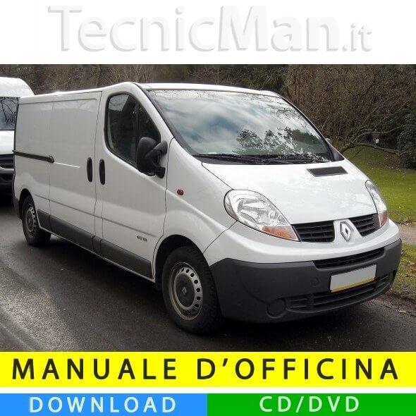 Manuale officina Renault Trafic II (2001-2014) (EN-FR-ES)