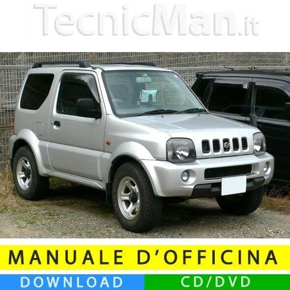Manuale officina Suzuki Jimny III (1998-2014) (EN)